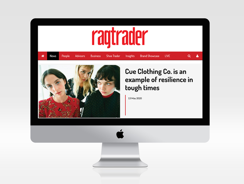 RAGTRADER LABELS CUE RESILIENT DURING COVID-19